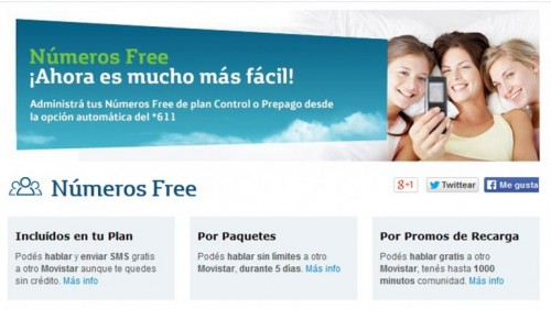 numeros free movistar