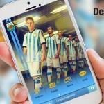 App móvil de la Selección Argentina de Fútbol