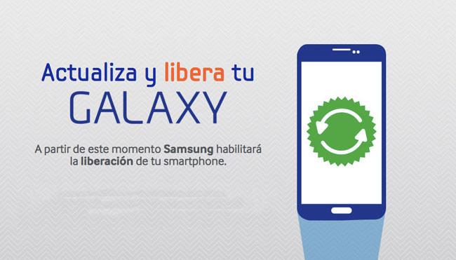 Actualizar y liberar Samsung Galaxy