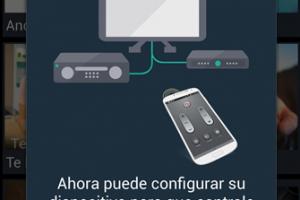 Usando el Samsung Galaxy S4 como Control Remoto Universa