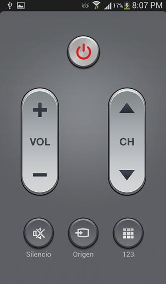 Usando el Samsung Galaxy S4 como Control Remoto Universal