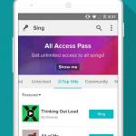 Sing! Karaoke, la app para hacer Karaoke con el celular
