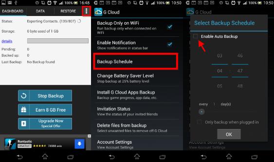 Copia de seguridad Android 1