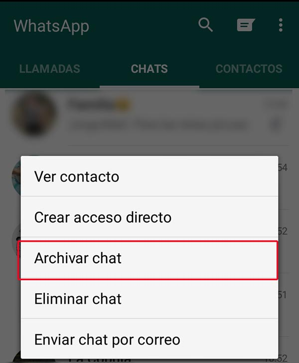 Ocultar-WhatsApp