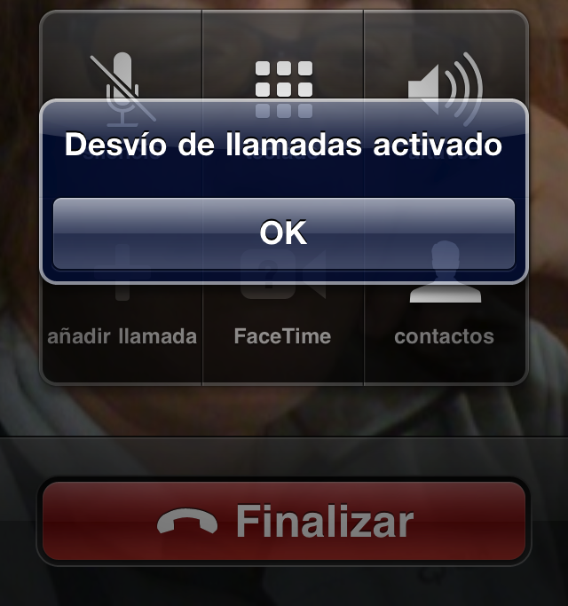 desvio llamada