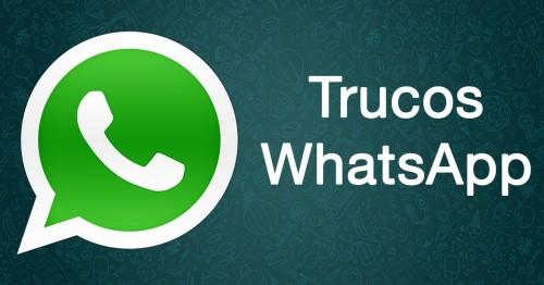 Trucos para Whatsapp que no sabias que existian