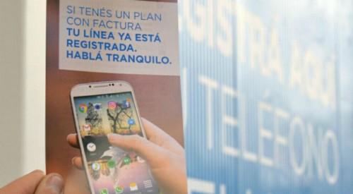El gobierno pide que usuarios registren celulares en su nuevo sistema antirrobo.