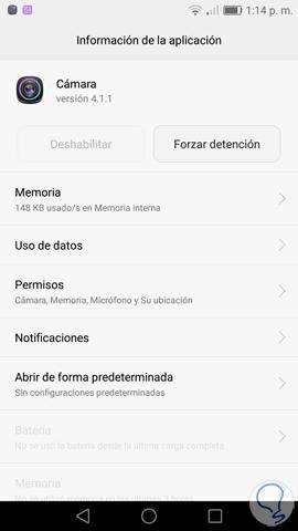 solución Error en Cámara en Android-