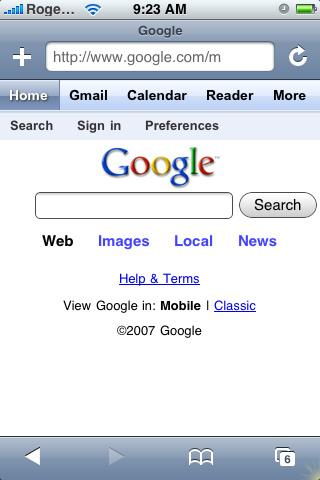 google iphone2