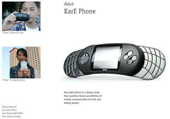 Asus KarE un concept similar al N-gage