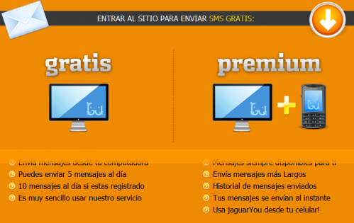 jaguaryou enviar SMS gratis Mexico