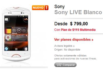sony-ericsson-live-en-la-tienda-virtual-claro-claro-tienda-virtual