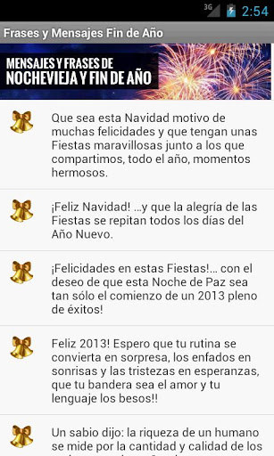 mensajes fin de año 2013