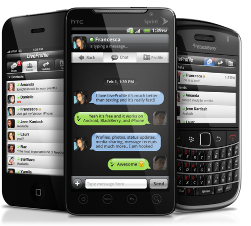 liveprofile para blackberry android
