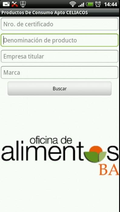 app Android para celiacos