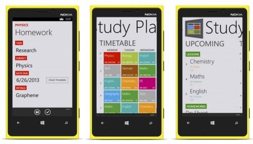 studyplanner para windows phone