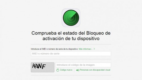 Bloque de activacion Apple