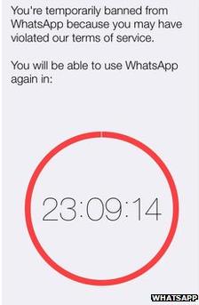 WhatsApp suspende a usuarios que no usan el programa oficial en TN Tecno - TN.com.ar